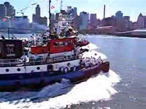 tugboat race nyc tugboat race nyc 2007 part 1 youtube