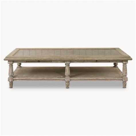 woodcroft colonial grey oak and top coffee table