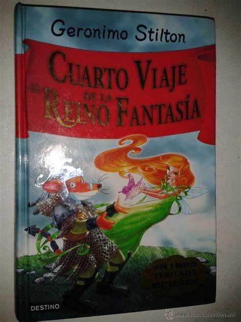 cuarto viaje al reino de la fantasia geronimo comprar libros de cuentos en todocoleccion