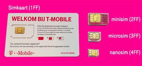 nano sim t mobile je simkaart knippen doe het niet t mobile