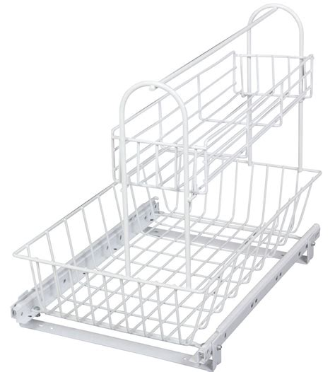 Slide Out Cabinet Baskets by Cabinet Slide Out Basket System In Pull Out Baskets