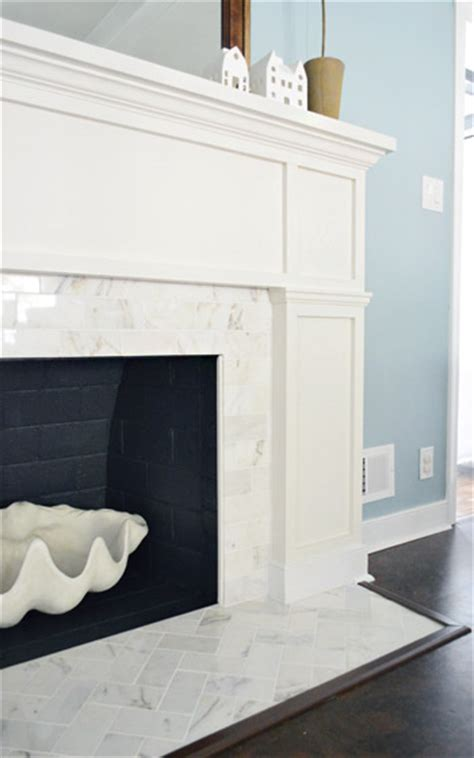 Young House Love   Our $200 Fireplace Makeover (Marble