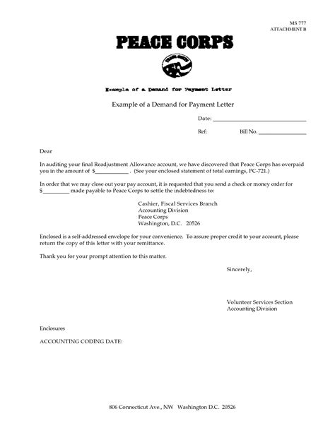best photos of legal payment demand letter template