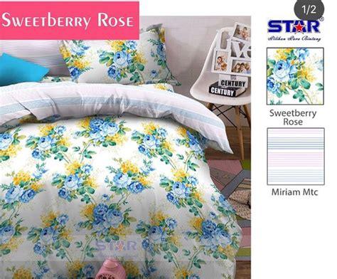 Harga Sprei Merk Sweet Home detail produk sprei dan bedcover sweetberry toko