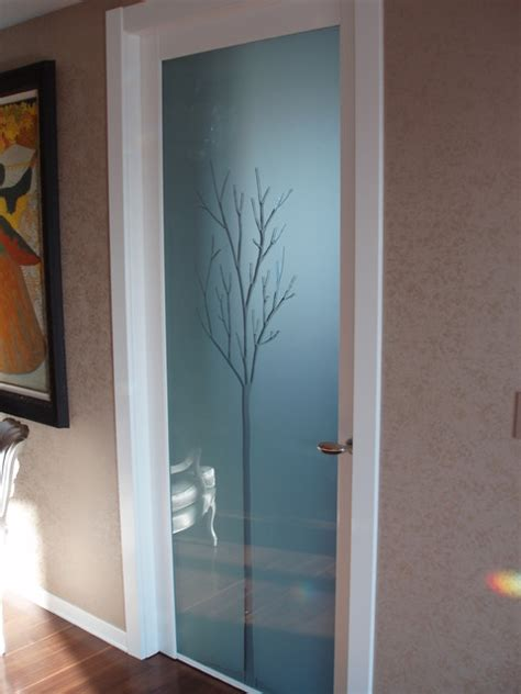 Interior Glass Doors Interior Door With Magic Glass Contemporary Interior Doors New York By Porta