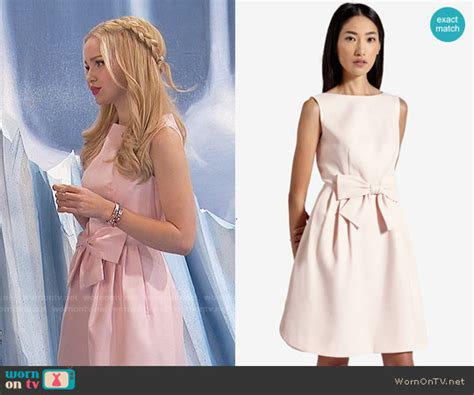 Camerons Kinda Sorta Dress by Wornontv Liv S Pink Bow Waist Dress On Liv And Maddie