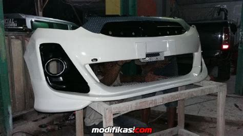 Bemper Mobil Agya baru concept modifikasi bemper ayla agya myvi extrem