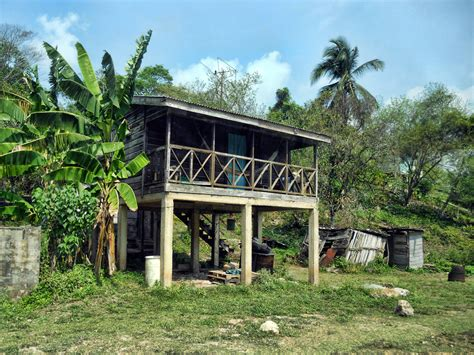 photo of the week belize s stilt houses
