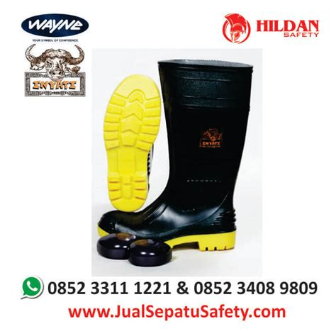 Sepatu Inyati Jual Sepatu Safety Boot Wayna Inyati Harga Grosir Murah