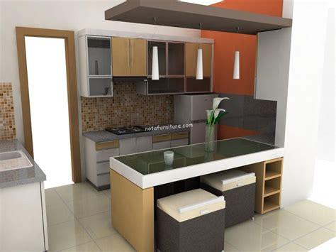 desain dapur sesuai tipe rumah nota furniture
