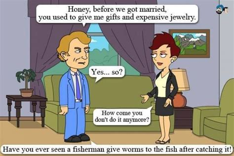 Husband And Wife Memes - funny man and wife cartoon