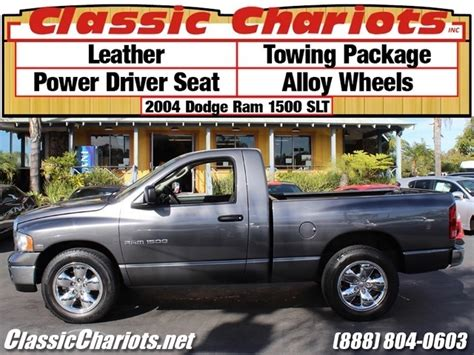 used dodge rams near me sold used truck near me 2004 dodge ram 1500 slt 2dr