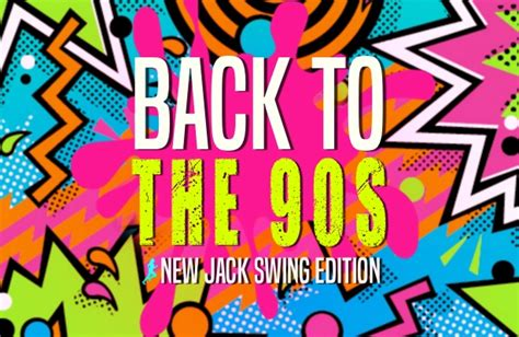 90s new jack swing back to the 90 s new jack swing 1 hour workout mix