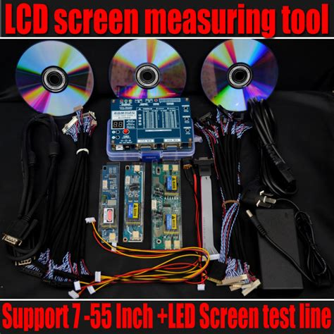 test tv led free shipping new laptop tv lcd led test tool lcd panel