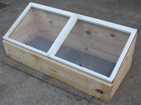 make window cold frame