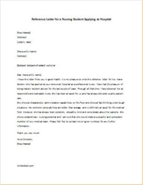Reference Letter Vs Phone Reference Recommendation Letter For Student Volunteer At Hospital Cover Letter Templates