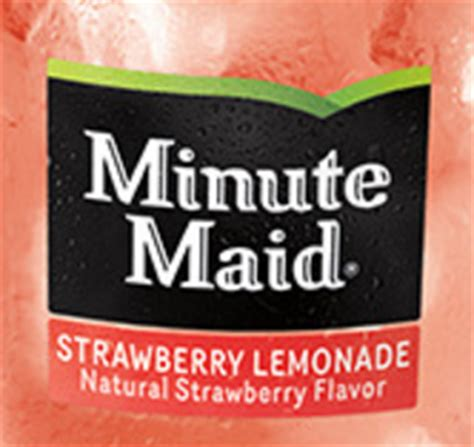 hardees carls jr  minute maid strawberry lemonade freebiesharkcom