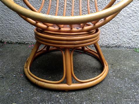 retro pod egg chair retro egg chair vintage pod chair swivel bamboo egg chair