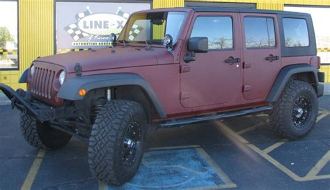 white linex jeep bedliners line x of knoxville