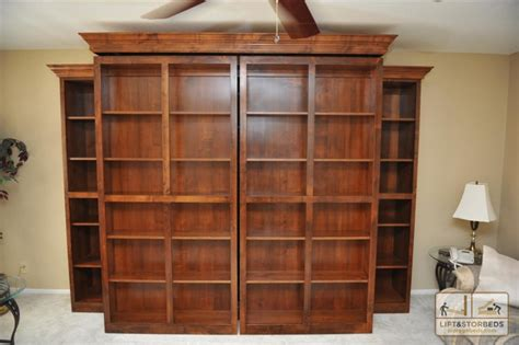bookcase murphy bed murphy wall beds lift stor beds