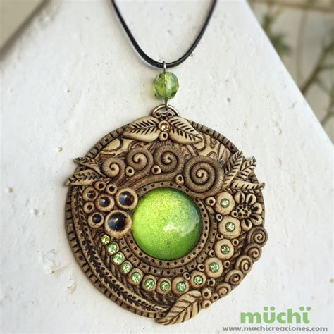 jewelry with clay 1000 ideas about polymer clay pendant on
