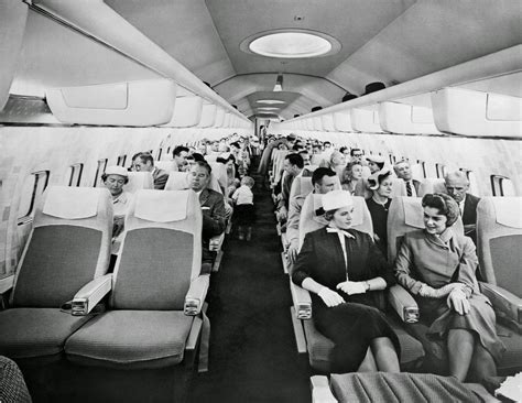 Flying With In Cabin by The Golden Age Of Air Travel The Casual Observer