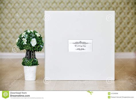 wedding photo book metal cover box for wedding photo album with leather cover and metal