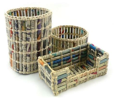 Paper Recycling Crafts - 17 best ideas about recycled paper crafts on
