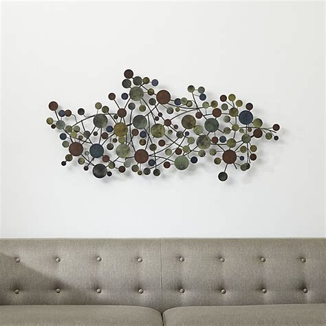 India Home Decor Ideas by Cosgrove Metal Wall Sculpture Crate And Barrel