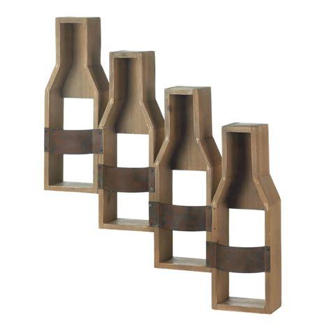 Wine Bottle Shaped Wine Rack by Wholesale Wine Bottle Shape Wall Mounted Wine Rack For 4
