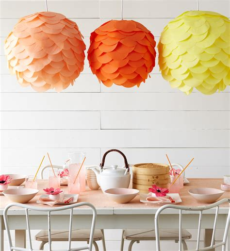 Make Paper Lantern - decorating with paper lanterns construction2style