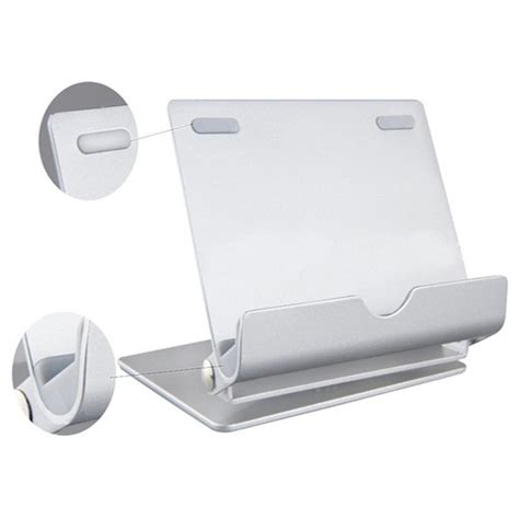 Holder Hp Tempat Hp Di Stang Holder Hp Stang universal aluminium holder for tablet pc and smartphone silver jakartanotebook