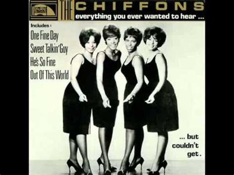 one fine day the the chiffons one fine day youtube