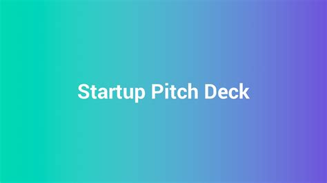 startup pitch template startup business ppt pitch deck by spriteit graphicriver