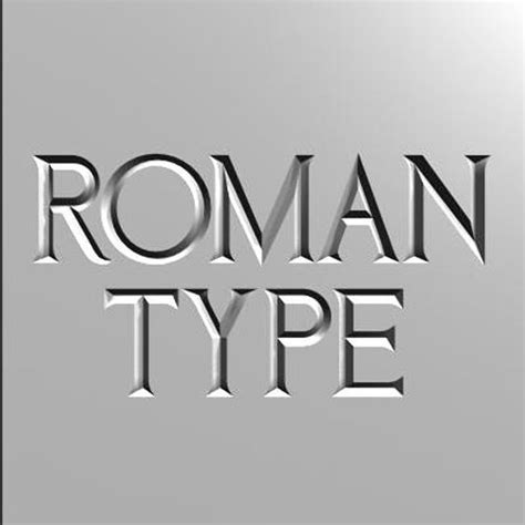 printable roman font 3d roman font letters roman font incised type by