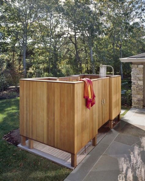 how to make an outdoor bathroom 1000 images about outdoor showers gotta have one on