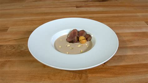 velvety goose  chestnut soup