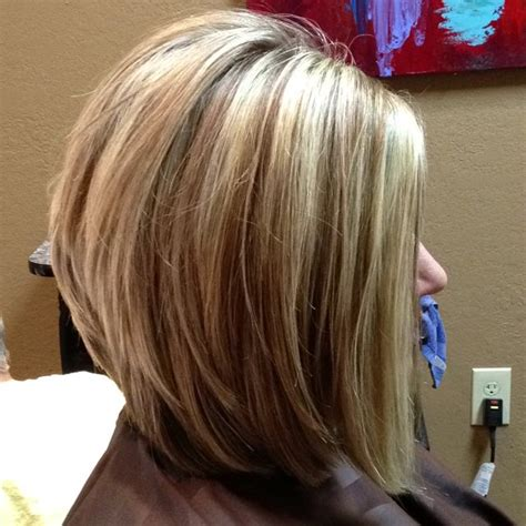 long layered stacked bob stacked layered bob my next haircut tired of long hair