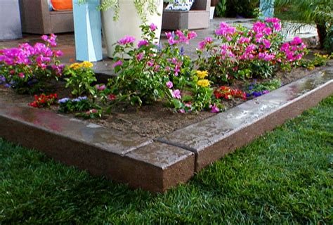 raised flower beds diy indi scaping design decorative landscaping gravel
