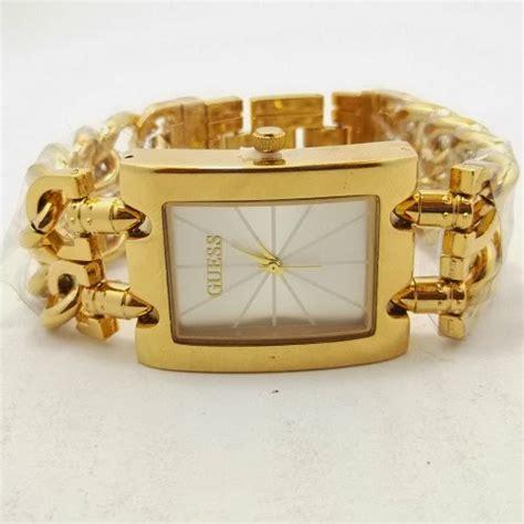 Jam Tangan Wanita Guess Rantai Simpleelegant Silver Kw 1 toko jam tangan di jogja jam tangan guess kw jogja