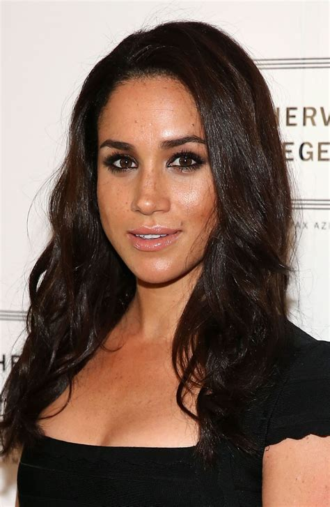 meghan markle meghan markle at herve leger by max azria spring 2014