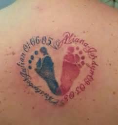 children s footprint tattoo tattoo pinterest