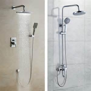 unterputz dusche dusche unterputz installation raum und m 246 beldesign