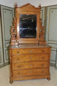 antique bedroom marble top dresser with mirror beautiful