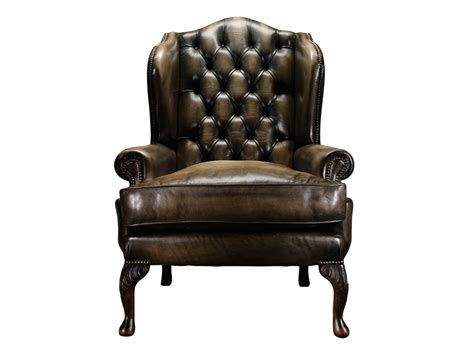 tufted leather armchair tufted tanned leather armchair with armrests james boswell