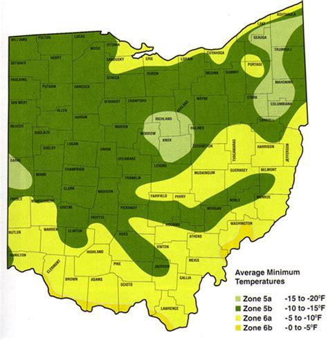 Garden Zones Ohio Zone Maps Pioneer Tree Farms Wholesale Evergreens