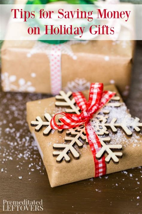 how to save money on christmas presents tips for saving money on gifts