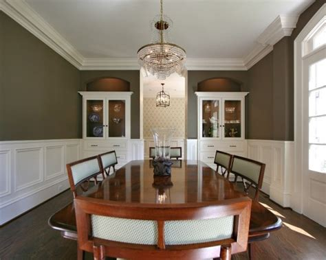 Dining Room Molding Designs Crown Molding Ideas Chair Rail Molding Wainscoting This