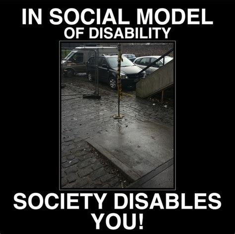 Disability Memes - social model of disability meme inspiration pinterest
