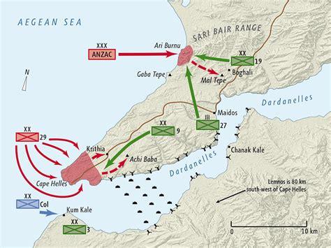 battle of gallipoli map 40 maps that explain world war i vox